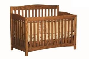 2658dark Monterey Crib