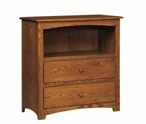 2669-15dark Monterey Dresser