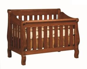 4825 Hoosier Sleigh Crib