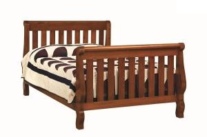 4920 Hoosier Sleigh Twin Bed