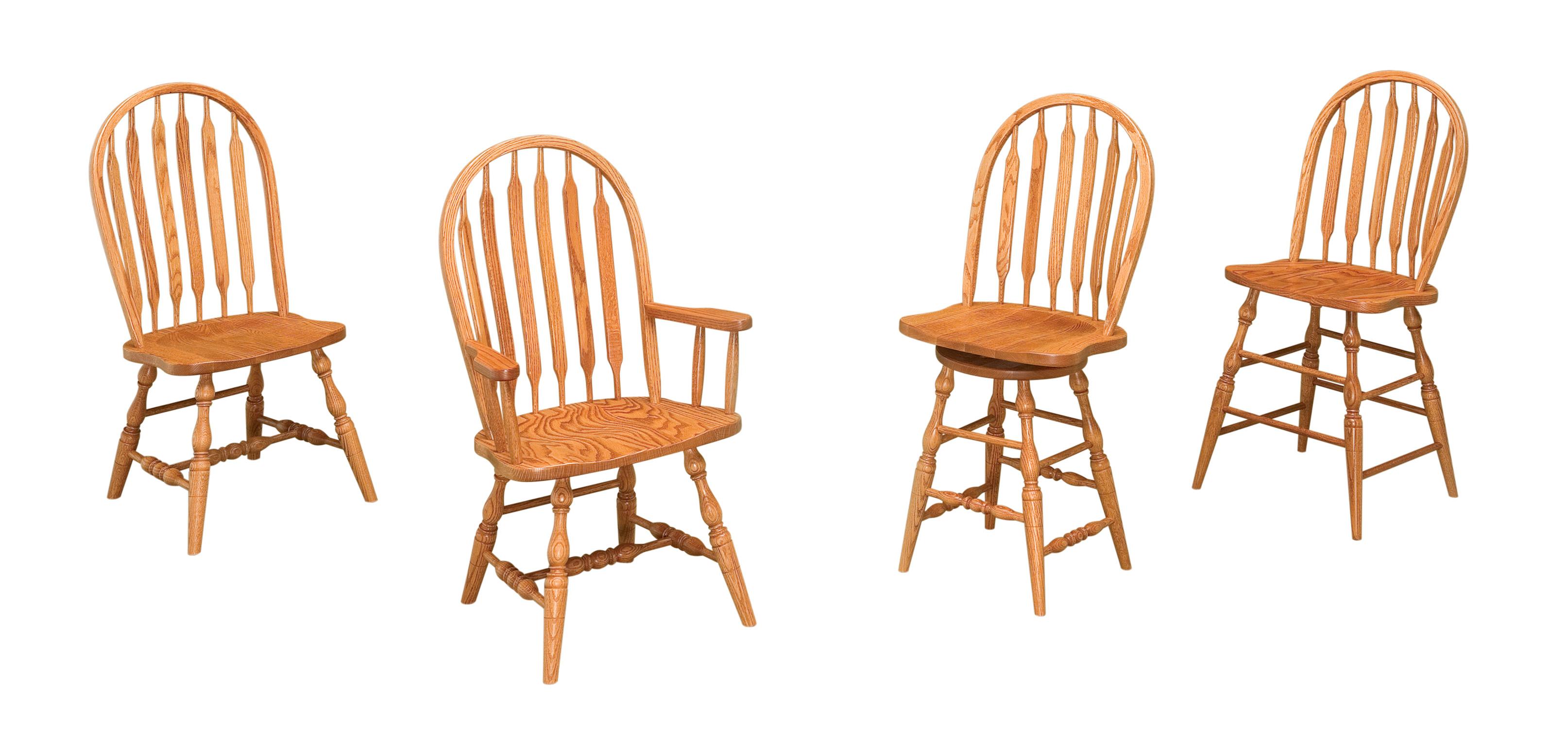 Amish Bowback Chairs