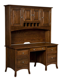 Carlisle Desk & Hutch