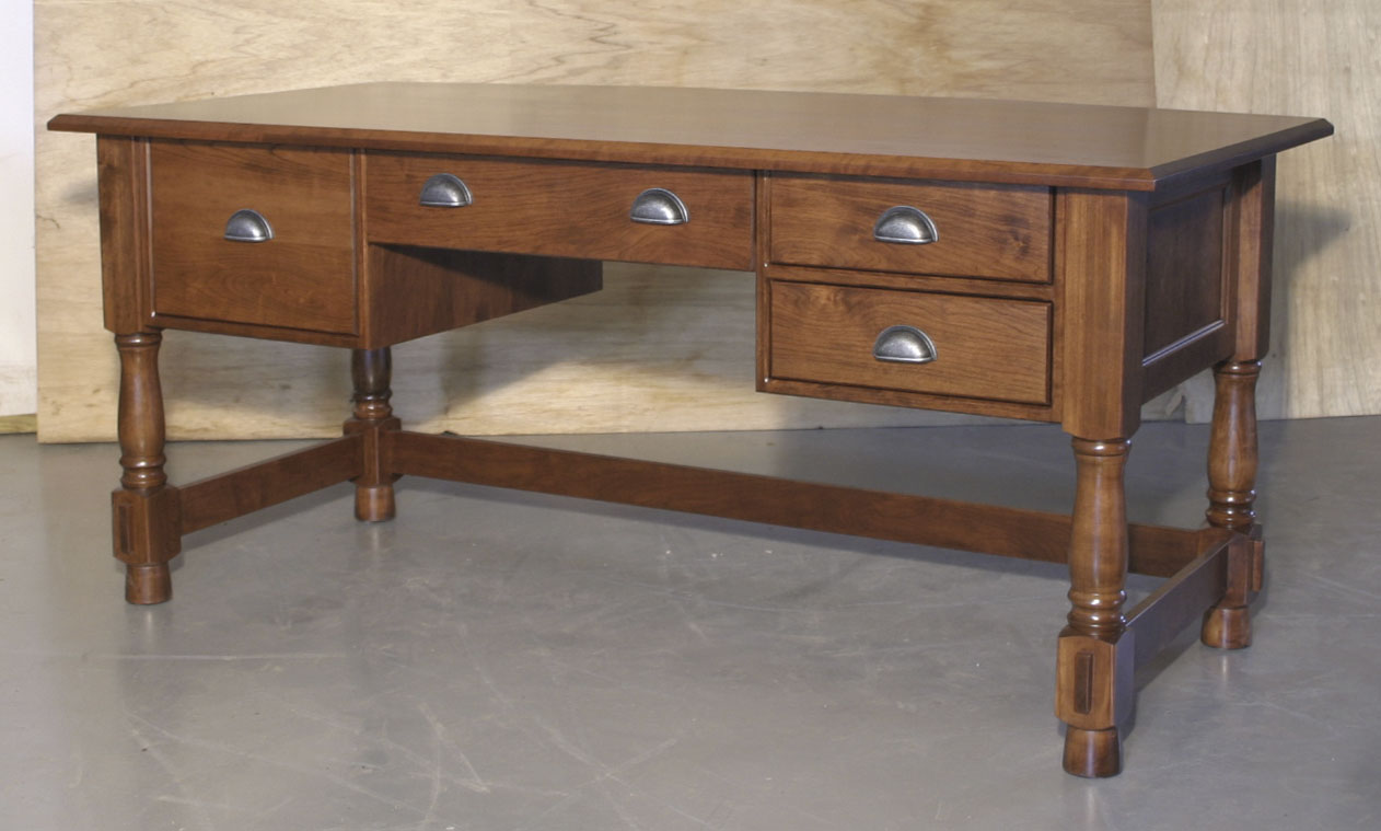 desks page 1 amish furniture gallery in lockport il lincoln executive desk