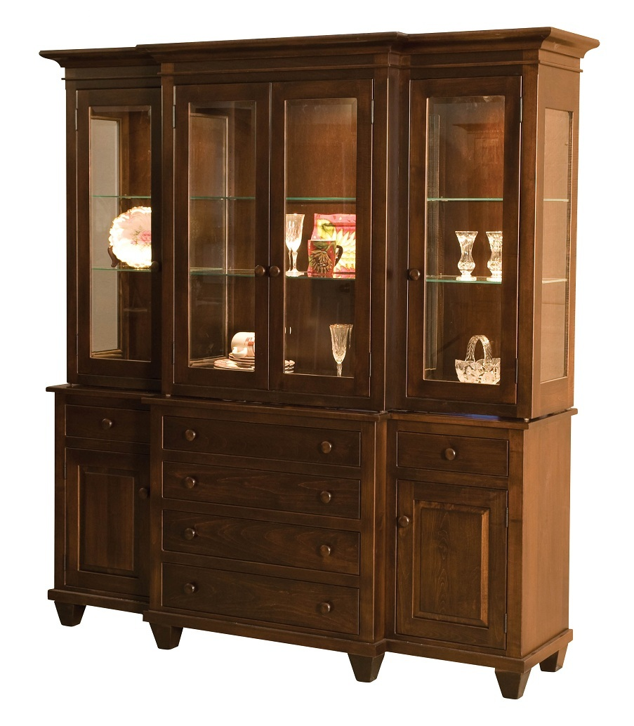 Hutches Page 2 Amish Furniture Gallery in Lockport IL : Monticello 2009 from www.amishfurniturelockport.com size 903 x 1034 jpeg 222kB