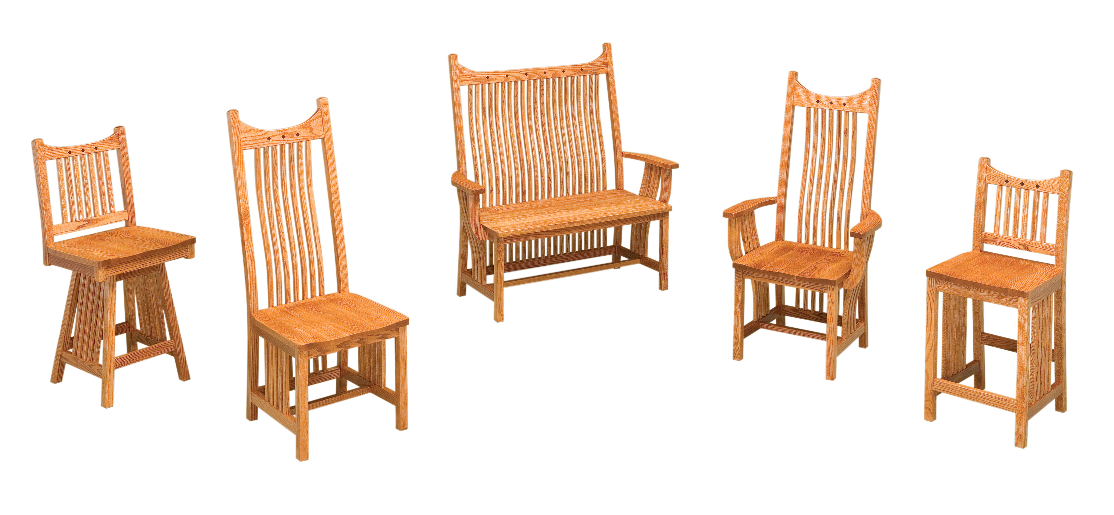Chairs Page 3 Amish Furniture Gallery In Lockport Il
