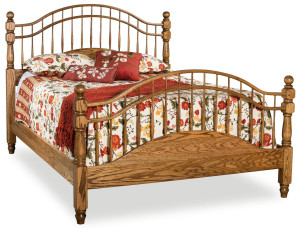 Hoosier Heritage Double Bow Bed